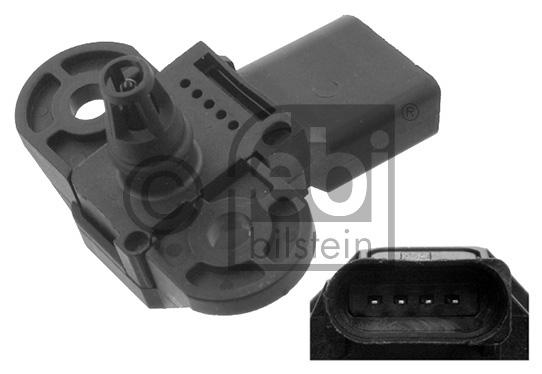 capteur pression de suralimentation febi bilstein 45079 amapiece. Black Bedroom Furniture Sets. Home Design Ideas