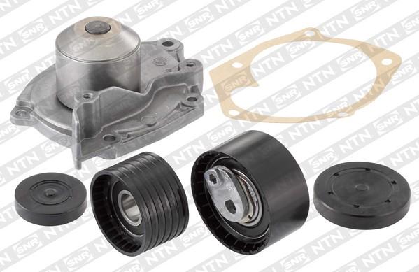 Pompe à eau + kit de courroie de distribution - SNR - KDP455.520