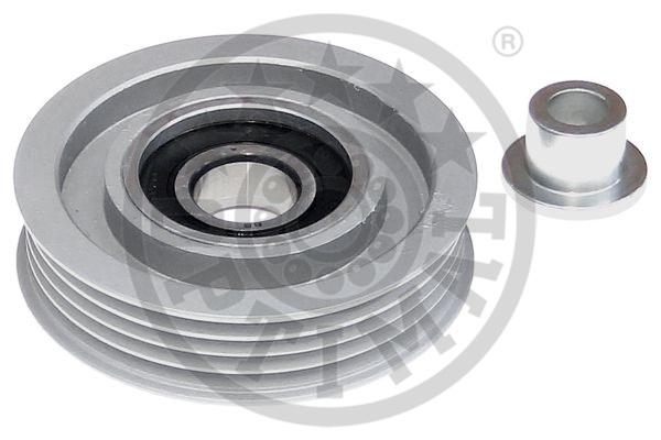 Poulie renvoi/transmission, courroie trapézoïdale à nervures - OPTIMAL - 0-N2102