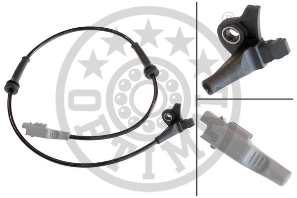 Capteur, vitesse de roue - OPTIMAL - 06-S124
