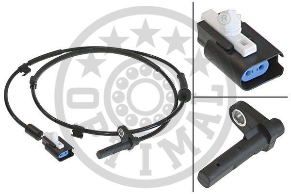 Capteur, vitesse de roue - OPTIMAL - 06-S173