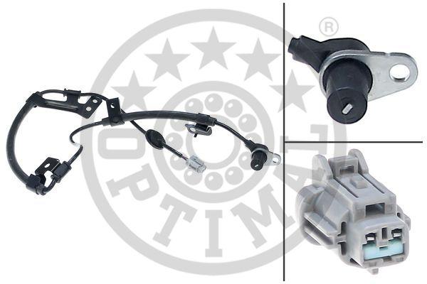 Capteur, vitesse de roue - OPTIMAL - 06-S237