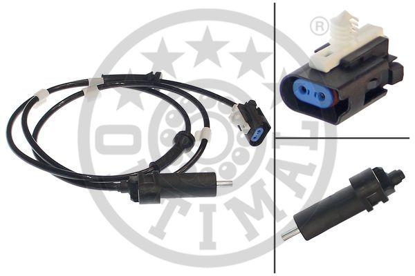 Capteur, vitesse de roue - OPTIMAL - 06-S250