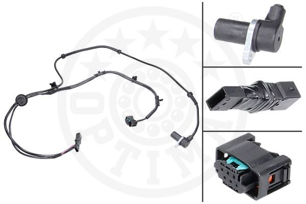 Capteur, vitesse de roue - OPTIMAL - 06-S293