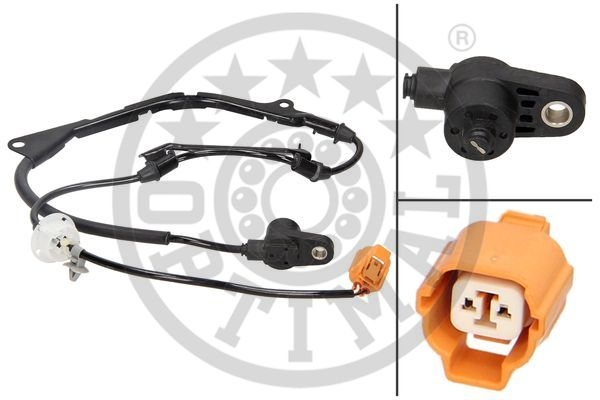Capteur, vitesse de roue - OPTIMAL - 06-S339