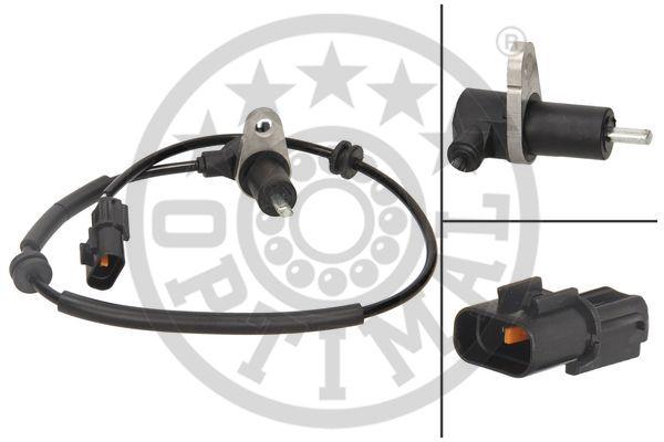 Capteur, vitesse de roue - OPTIMAL - 06-S351