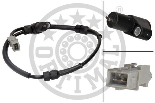 Capteur, vitesse de roue - OPTIMAL - 06-S367