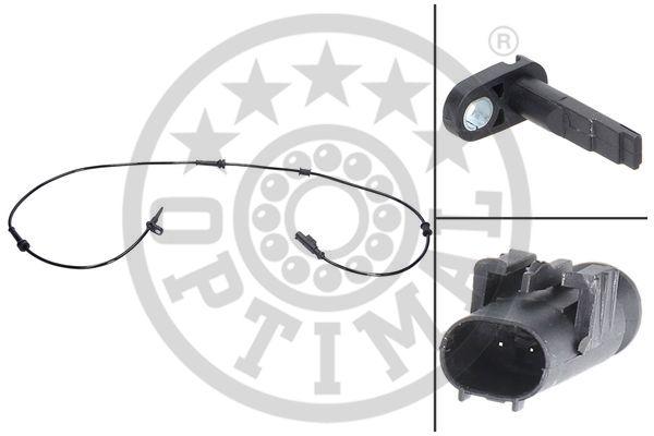 Capteur, vitesse de roue - OPTIMAL - 06-S429