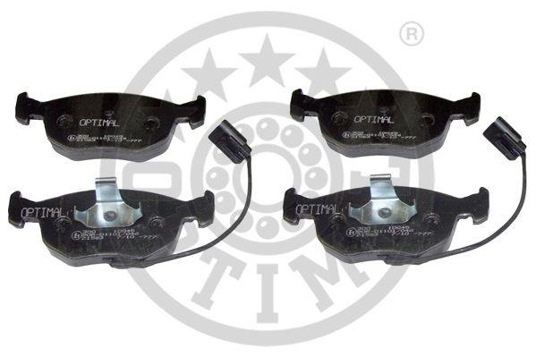 Kit de plaquettes de frein, frein à disque - OPTIMAL - 10045