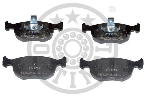 Kit de plaquettes de frein, frein à disque - OPTIMAL - 10046