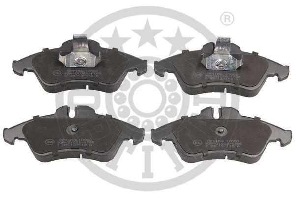 Kit de plaquettes de frein, frein à disque - OPTIMAL - 10050