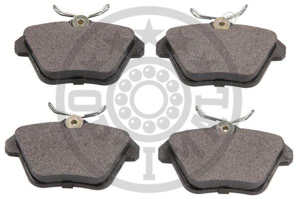 Kit de plaquettes de frein, frein à disque - OPTIMAL - 10055