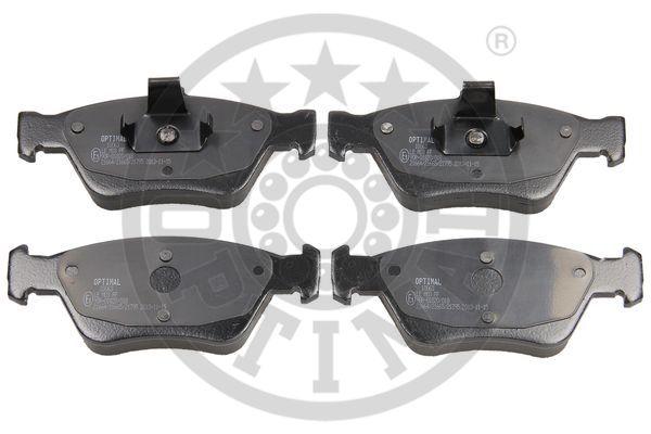 Kit de plaquettes de frein, frein à disque - OPTIMAL - 10063