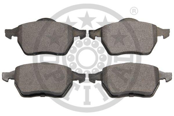 Kit de plaquettes de frein, frein à disque - OPTIMAL - 10064