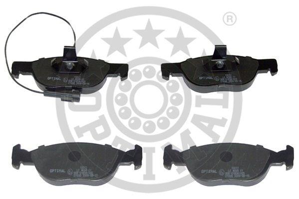 Kit de plaquettes de frein, frein à disque - OPTIMAL - 10072