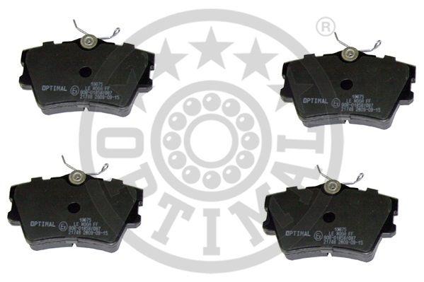 Kit de plaquettes de frein, frein à disque - OPTIMAL - 10075