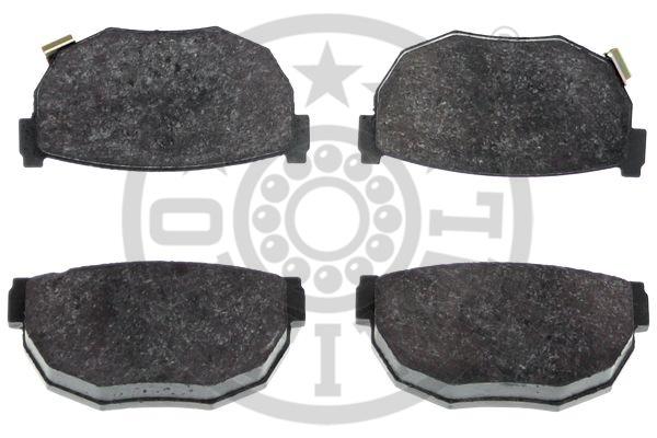 Kit de plaquettes de frein, frein à disque - OPTIMAL - 10085