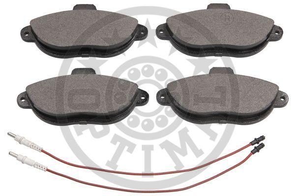Kit de plaquettes de frein, frein à disque - OPTIMAL - 10089
