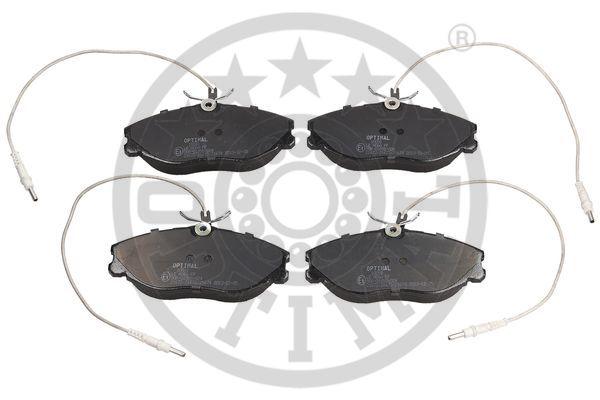 Kit de plaquettes de frein, frein à disque - OPTIMAL - 10091