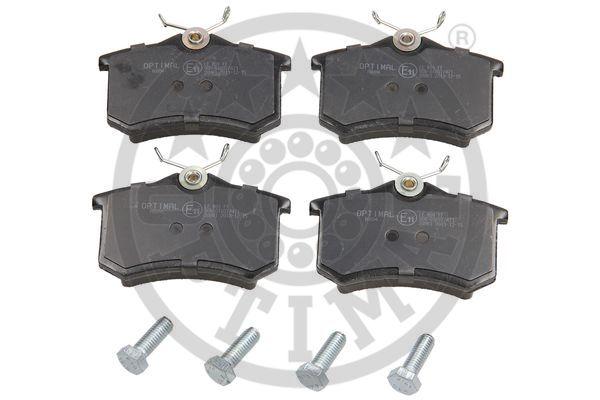 Kit de plaquettes de frein, frein à disque - OPTIMAL - 10094