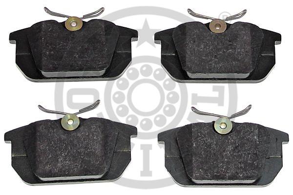 Kit de plaquettes de frein, frein à disque - OPTIMAL - 10100