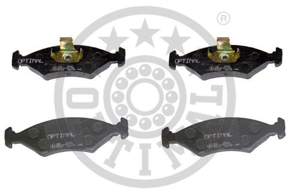 Kit de plaquettes de frein, frein à disque - OPTIMAL - 10107