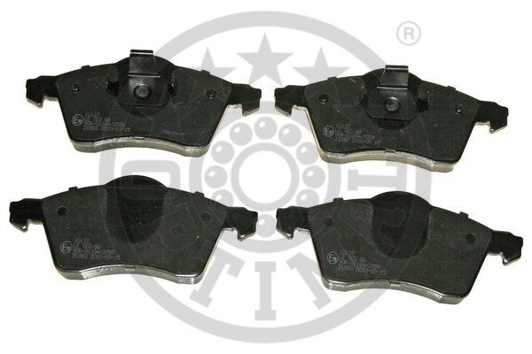 Kit de plaquettes de frein, frein à disque - OPTIMAL - 10137