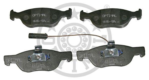 Kit de plaquettes de frein, frein à disque - OPTIMAL - 10139