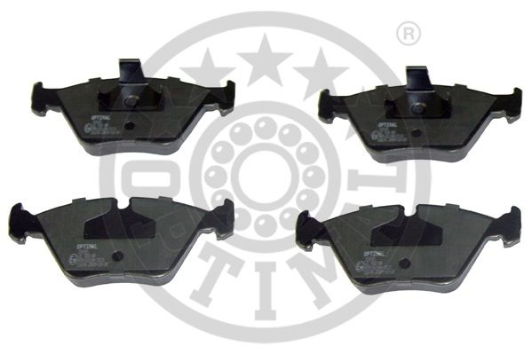 Kit de plaquettes de frein, frein à disque - OPTIMAL - 10141