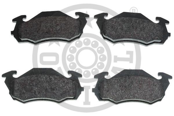 Kit de plaquettes de frein, frein à disque - OPTIMAL - 10154
