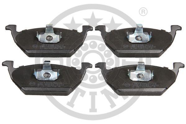 Kit de plaquettes de frein, frein à disque - OPTIMAL - 10172