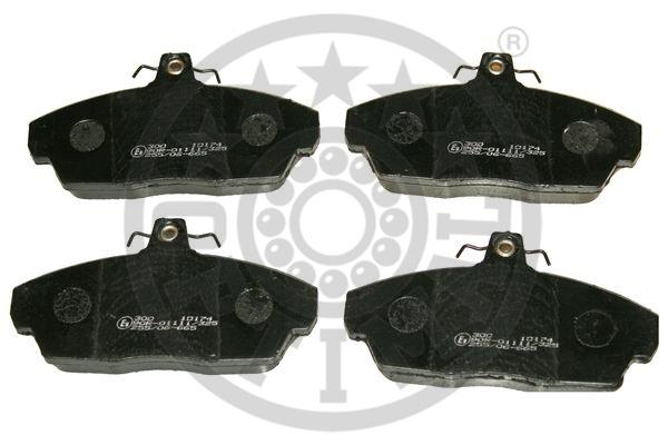 Kit de plaquettes de frein, frein à disque - OPTIMAL - 10174