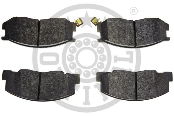 Kit de plaquettes de frein, frein à disque - OPTIMAL - 10177