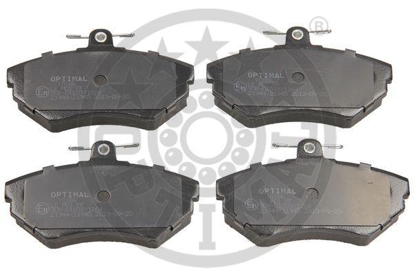Kit de plaquettes de frein, frein à disque - OPTIMAL - 10186