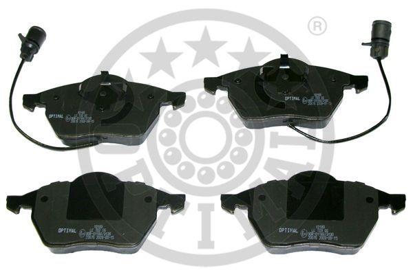 Kit de plaquettes de frein, frein à disque - OPTIMAL - 10189
