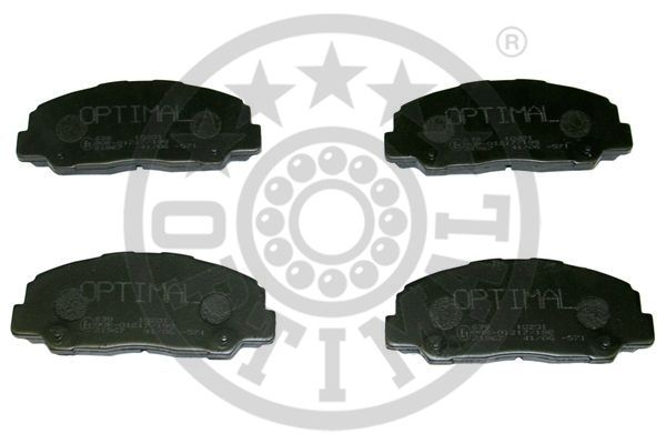 Kit de plaquettes de frein, frein à disque - OPTIMAL - 10201