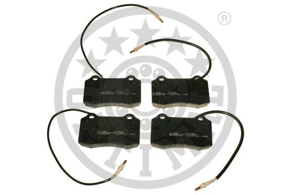 Kit de plaquettes de frein, frein à disque - OPTIMAL - 10204