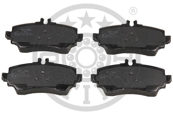 Kit de plaquettes de frein, frein à disque - OPTIMAL - 10205
