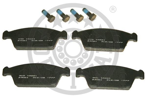 Kit de plaquettes de frein, frein à disque - OPTIMAL - 10221