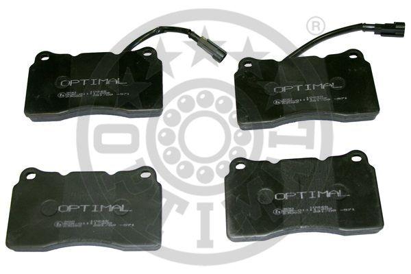 Kit de plaquettes de frein, frein à disque - OPTIMAL - 10248