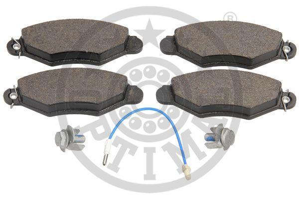 Kit de plaquettes de frein, frein à disque - OPTIMAL - 10266
