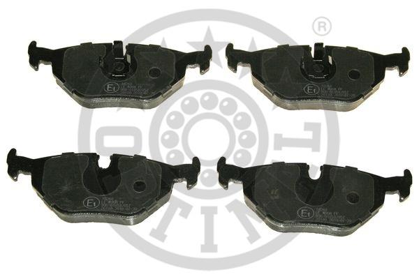 Kit de plaquettes de frein, frein à disque - OPTIMAL - 10268