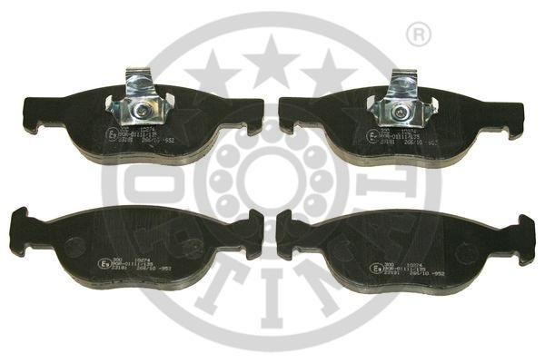 Kit de plaquettes de frein, frein à disque - OPTIMAL - 10274