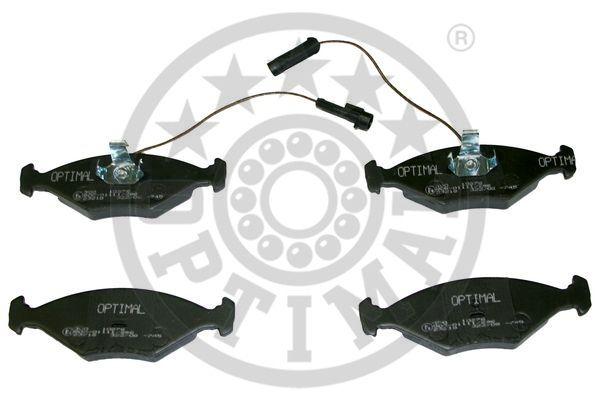 Kit de plaquettes de frein, frein à disque - OPTIMAL - 10276