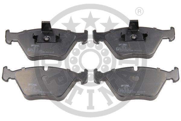 Kit de plaquettes de frein, frein à disque - OPTIMAL - 10279