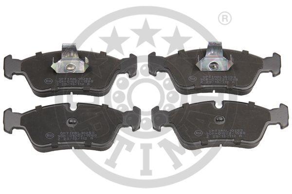 Kit de plaquettes de frein, frein à disque - OPTIMAL - 10283