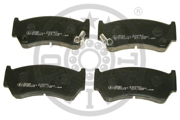 Kit de plaquettes de frein, frein à disque - OPTIMAL - 10287