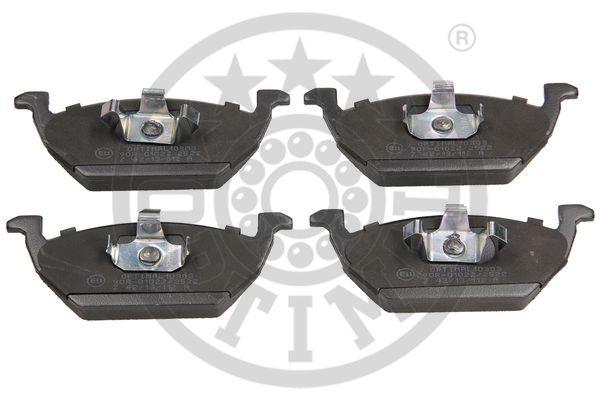 Kit de plaquettes de frein, frein à disque - OPTIMAL - 10303