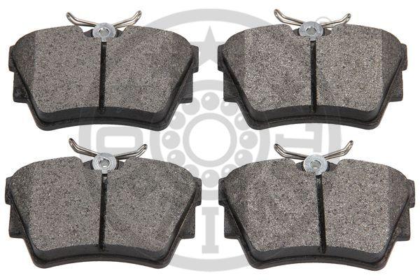 Kit de plaquettes de frein, frein à disque - OPTIMAL - 10307