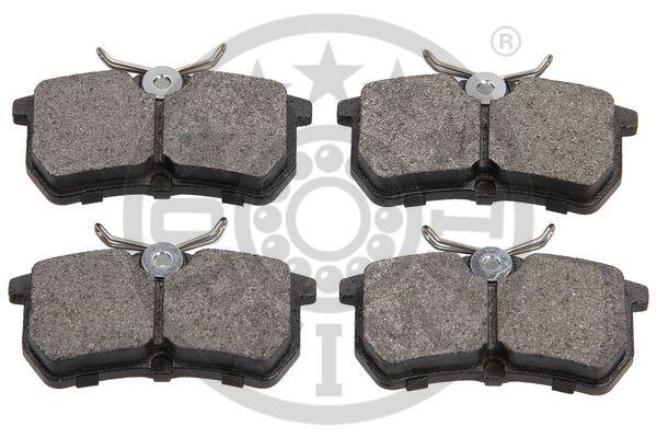 Kit de plaquettes de frein, frein à disque - OPTIMAL - 10310